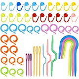 NATUCE Kit Crochet Tricot pour Debutant, 53PCS Accessoire Tricot et Crochet avec Aiguille de Câble à Tricoter Crochet, Aiguil