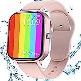 Smartwatch Donna, Jamswall Orologio Fitness, smartwatch donna tracker attività GPS impermeabile IP68, monitor del sonno, touc