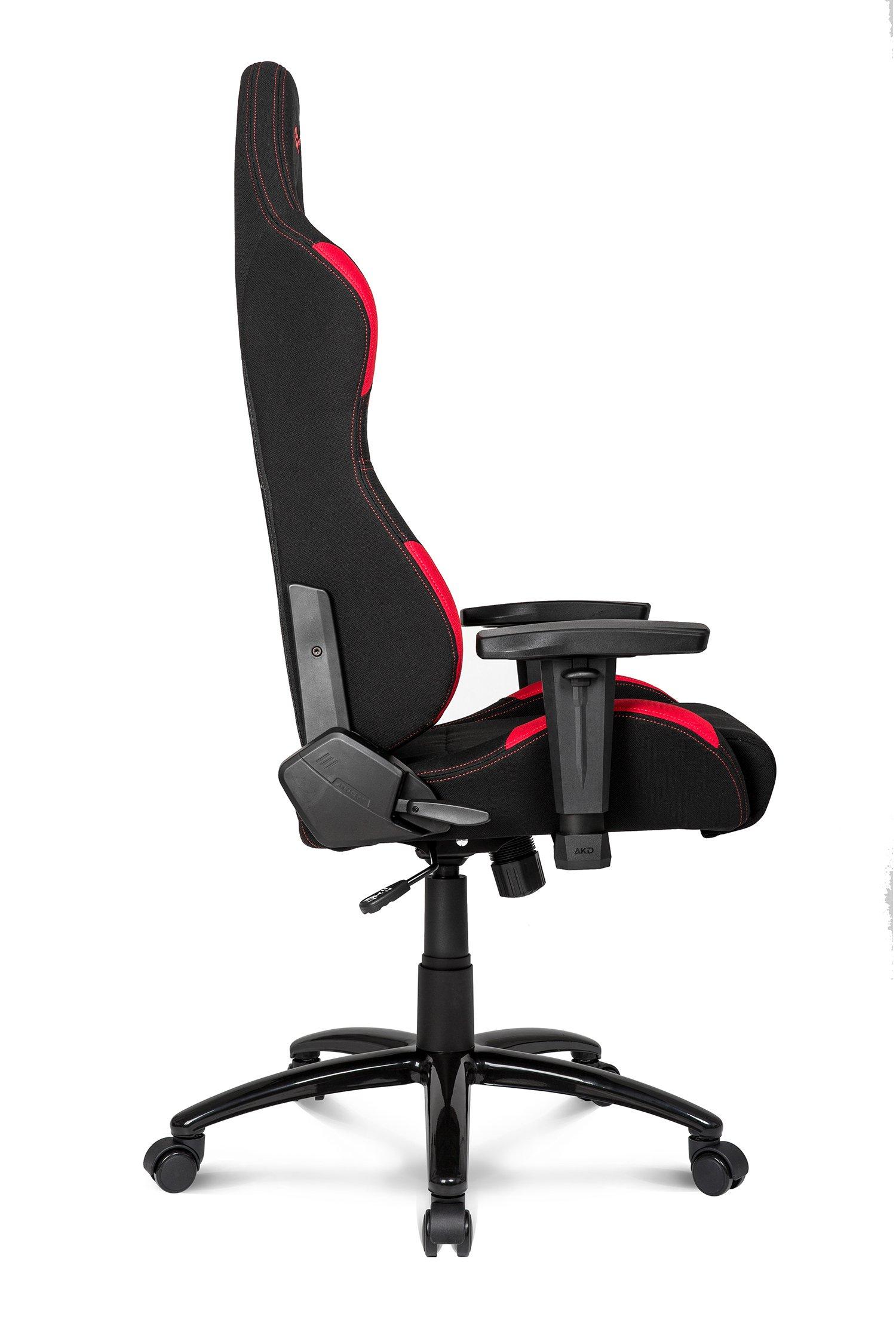 AKRacing K7012 – AK-K7012-BR – Silla Gaming, Color Negro/Rojo