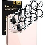 iVoler 4 Stuks Camera Lens Protector Compatibel met iPhone 13 3D, Ultrahelder dun Film van Gehard Glas Schermbeschermer [9H-h