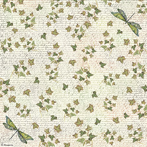 Stamperia Rice Paper Napkin 1/Pkg-Dragonfly (Dragonfly Serviette)