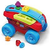 MEGA - Mega Building Basics - Shape Sorting Wagon, Red