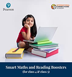 Smart Maths and Reading Boosters for Class 4 & Class 5 by Pearson & INACA