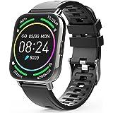Judneer Smartwatch Hombre, 1.69'' Reloj Inteligente IP67 Impermeable, Pulsera Pantalla Táctil Completa con Monitor de Sueño C
