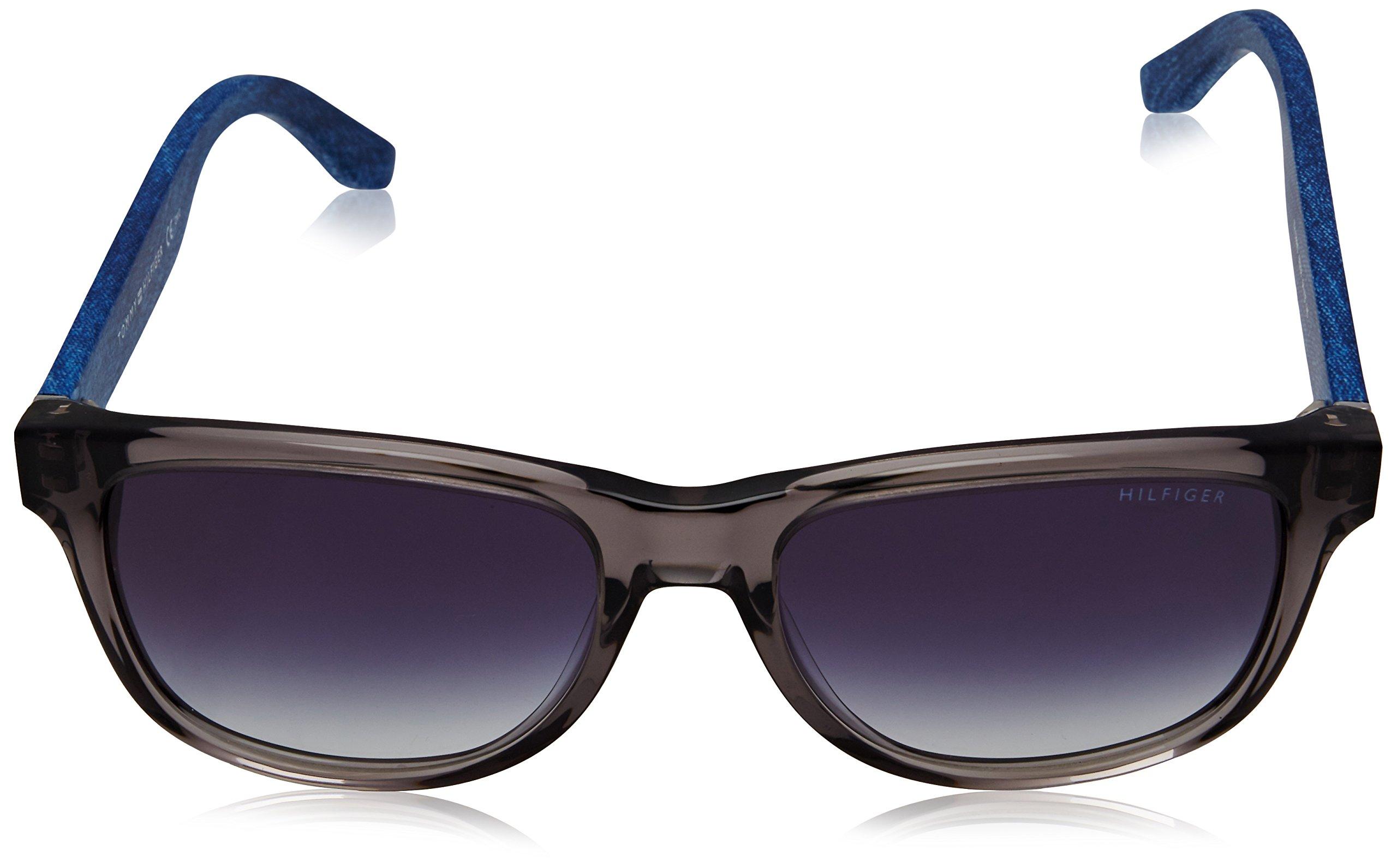 Tommy Hilfiger TH 1266/S 08 5EZ 54 Gafas de sol, Gris (Grey Blu Jeans/Grey Blu), Unisex Adulto