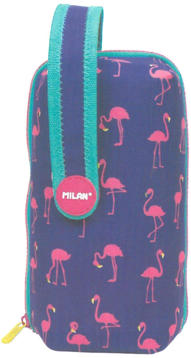 Estuche milan kit 4 estuches con contenido flamingos