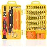 117 en 1 Juego de Destornilladores de Precisión con Pulseras Antiestaticas, Kit de Herramientas de Reparación de Bricolaje Pr