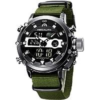 MEGALITH Orologio Uomo Militare Digitale Sportivo Orologio da Polso Quadrante Grande LED Orologi Analogico Digitali…