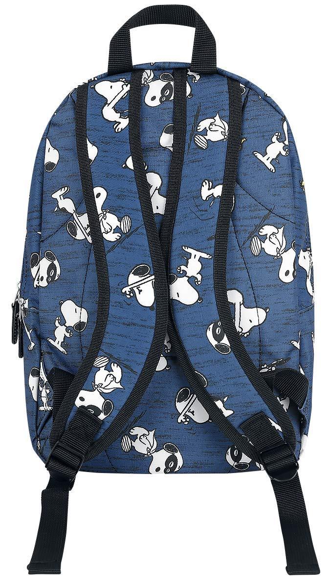 71eqGV9vc1L - Peanuts Snoopy Mochila Azul