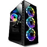 Vibox II-7 PC Gaming con un Juego Gratuito - Windows 10 - WiFi - Quad Core Ryzen Procesador - Nvidia GTX 1650 4Go Tarjeta Gra