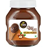 Disano Choco Hazelnut Spread with 45% Hazelnut, Chocolate, 175 Gram