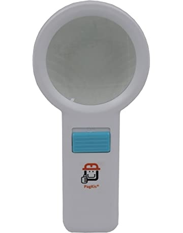 35ff074dd5fc PagKis Handheld LED Magnifier Lens - Magnifying Glass with Built in 10 LED  Lights