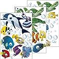 GESCHENKE-FABRIK muursticker met motief 'Onderwaterwereld/Vissen/Ocean' - muursticker voor kamerwanden - kinder- en tienerkam
