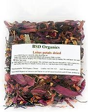 BSD Organics Edible Lotus granules dried for tea, garnishing & more- 30 gms