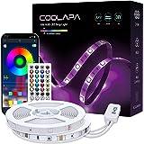 10M Tira LED, COOLAPA RGB Luces LED, Iluminación de ambiente, Sync con Música, 5050 12V Tiras LED, Control Remoto de 40 Tecla
