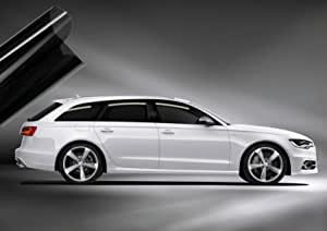 Solar Screen Passgenaue Tönungsfolie Hyundai I10 5 Türer Bj 2014 2019 Black 75 Auto