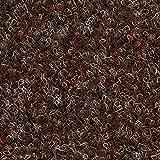 Kunstrasen Rasenteppich mit Noppen | 133, 200, und 400 cm Breite | verschiedene Größen | Höhe ca. 7,5mm | braun rot | Größe: 1 x 1,33 m