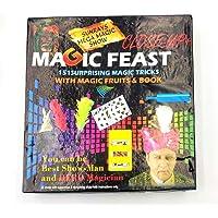 Negi Magic Feast 151 Surprising Magic Tricks with Magic Fruits and Book for Kids