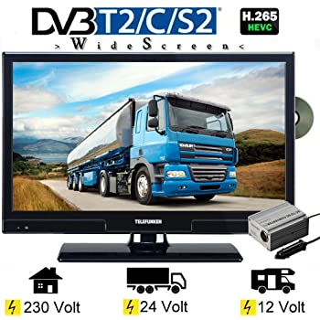 reflexion ldd 1970 led fernseher 19 zoll 48 cm dvb s. Black Bedroom Furniture Sets. Home Design Ideas