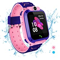 Smartwatch for Kids - Waterproof IP67 LBS Tracker Wrist Watch Phone Touch Screen with SOS Two…