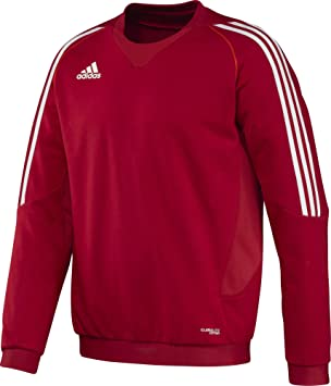adidas pullover in rot