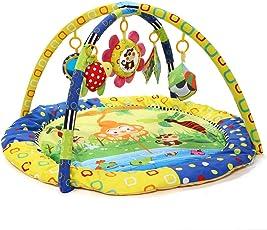 Zicac Palestrina educativa multifunzionale da bambino Tappetini gioco Modello Scimmie Pesci e Luna