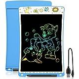 WOBEECO Tableta de Escritura LCD 10 Pulgadas Recargable  Tablet para niños   Ideal como Pizarra Digital para Aprender a Leer