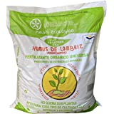 VERMIORGANIC Humus de Lombriz Ecológico 6KG (10 L), Categoría Extra. Abono para Todo Tipo de Plantas, Cultivos y Huertos Urba