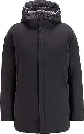 BOSS Mens J Clove Reversible Oversized Down Jacket in Water-Repellent Fabric