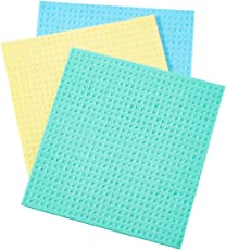 Sponge Wipes for Kitchen Cleaning(Set of 3), Color s per Stock Available
