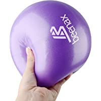Beenax Soft Pilates Ball - Small Exercise Ball, 23cm - Perfect for Pilates, Yoga, Core Training and Physical Therapy…