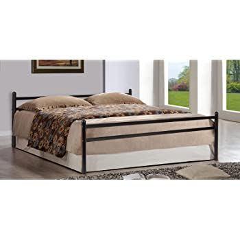 FurnitureKraft Zurich Metal Queen Size Double Bed