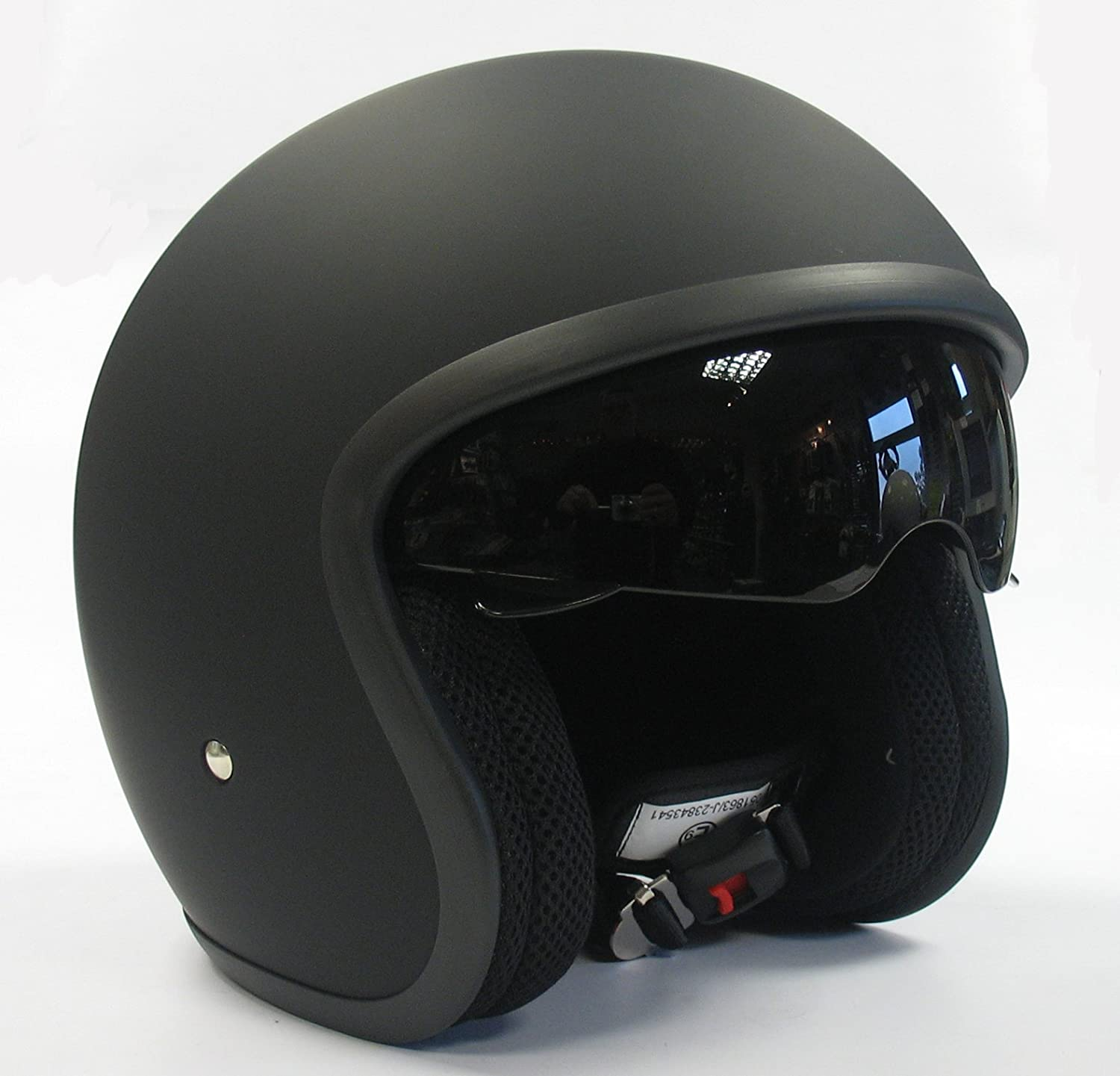 Open face crash helmets for sale