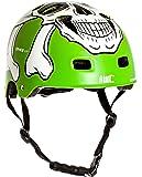 AWE® MEET YOUR MAKER™ BMX Helm Grün 55-58cm FREIES 5 JAHR CRASH ERSATZ *
