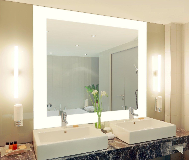 Badspiegel Mit Beleuchtung Vella M444l4: Design Spiegel Für ... Bad Beleuchtung Modern