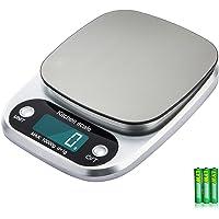 Diyife 10kg Balance de cuisine, Balance de cuisson en acier inoxydable à grande capacité et échelle de cuisson avec multifonction pour peser les aliments, Cuisson, Bijoux - Batterie incluse