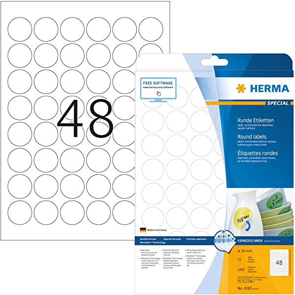 100 x Was Now 40mm Round Self Adhesive Peelable Removable Price Labels Stickers