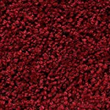 Teppichboden Auslegware | Hochflor Langflor | 400 und 500 cm Breite | rot | Meterware, verschiedene Größen | Größe: 5 x 4 m