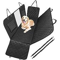 Anykuu Housse de Siège Auto Chien Antidérapant et imperméable Protection de siège chien avec Fenêtre Maillée Ceintures…