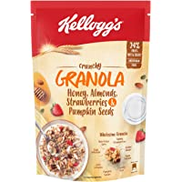 Kellogg's Crunchy Granola Honey, Almonds, Strawberries & Pumpkin Seeds, 450 g