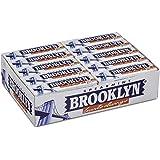Brooklyn Spearmint Gomme da Masticare, Gusto Menta, Confezione da 20 Stick da 9 Lastrine Monopezzo