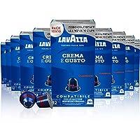 Lavazza Crema E Gusto Classico, Arabica e Robusta, Capsule in Alluminio Compatibili Nespresso, A Impatto Zero CO2, 10…