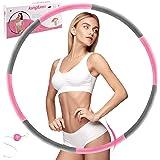 Rockring fitness rockring, kungfuren träningsring för viktminskning och massage, rostfritt stålkärna med premiumskum, bekväm