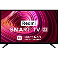Redmi 80 cm (32 inches) HD Ready Smart LED TV | L32M6-RA (Black) (2021 Model) | With Android 11