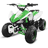 "Nitro Motors Kinderquad Speedy 125cc RG7 7"" Automatik + Rückwärtsgang Quad ATV Bike Midi Pocket"