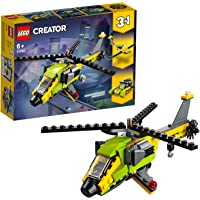 LEGO Creator Helicopter Adventure Building Blocks for Kids (114 Pcs)31092