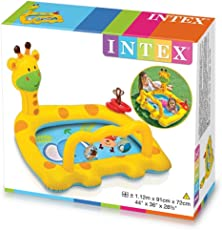 Intex Smiley Giraffe Baby Pool, Blue