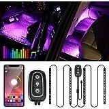 Illuminazione LED per interni –Trongle lampada per auto, 48LED, striscia di design a due linee migliorata, impermeabile, mult