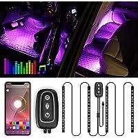 Illuminazione LED per interni –Trongle lampada per auto, 48LED, striscia di design a due linee migliorata, impermeabile…