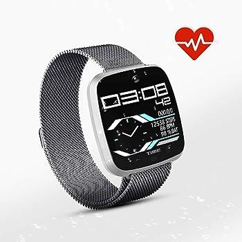 N NEWKOIN Relojes Inteligentes Rastreador de Ejercicios Reloj Inteligente Reloj Deportivo Reloj de Ejercicios Impermeable Banda